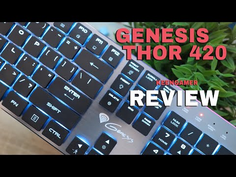 Natec Genesis Thor 420 Low Profile Keyboard Review: Minimalism at its Finest