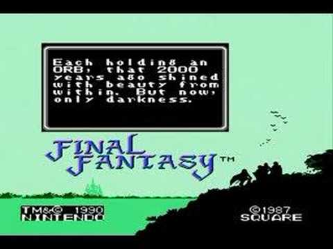 Final Fantasy (NES) Opening + Introduction