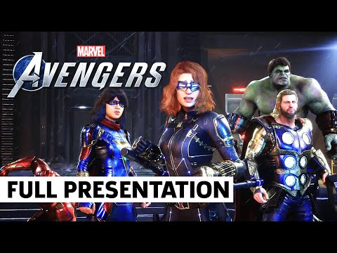 Marvel's Avengers - FULL War Table Gameplay Reveal Event