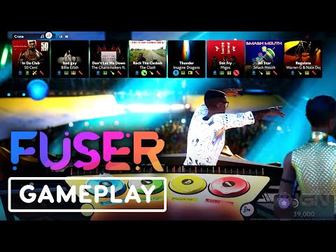 Fuser - 3 Minutes of Gameplay (From the Maker of Rock Band)