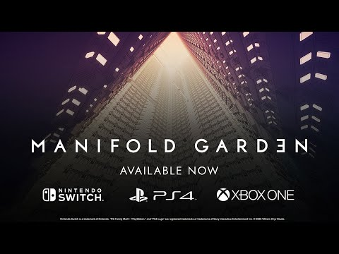 Manifold Garden - Console Launch Trailer