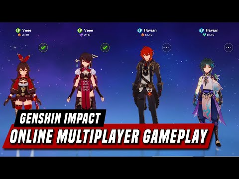 Genshin Impact - Online Co-Op Multiplayer Gameplay