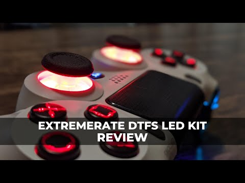 eXtremeRate DTFS LED Kit Review for DualShock 4: Frag in Style (PS4)