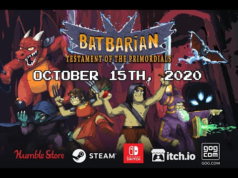 Batbarian: Testament of the Primordials - Official Trailer | Nintendo Switch, PC