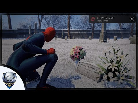 Spider-Man Miles Morales - Jefferson Davis' Grave Site (Never Give Up Trophy Guide)